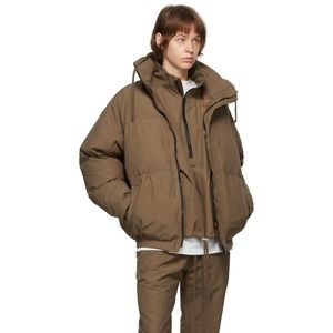 ESSENTIALS Fear of God Exclusive Brown Puffer